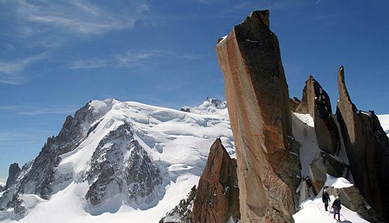 法国 阿尔卑斯山 勃朗峰