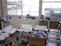 分类后不同厂商的墨盒分别装箱