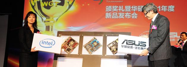 华硕携手Intel共同发布6系列主板