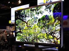 夏普70吋3D电视亮相