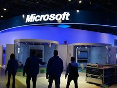 微软展台巡礼