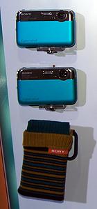 索尼DSC-J10机器展示