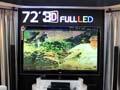 72吋FULLLED 3DTV展出