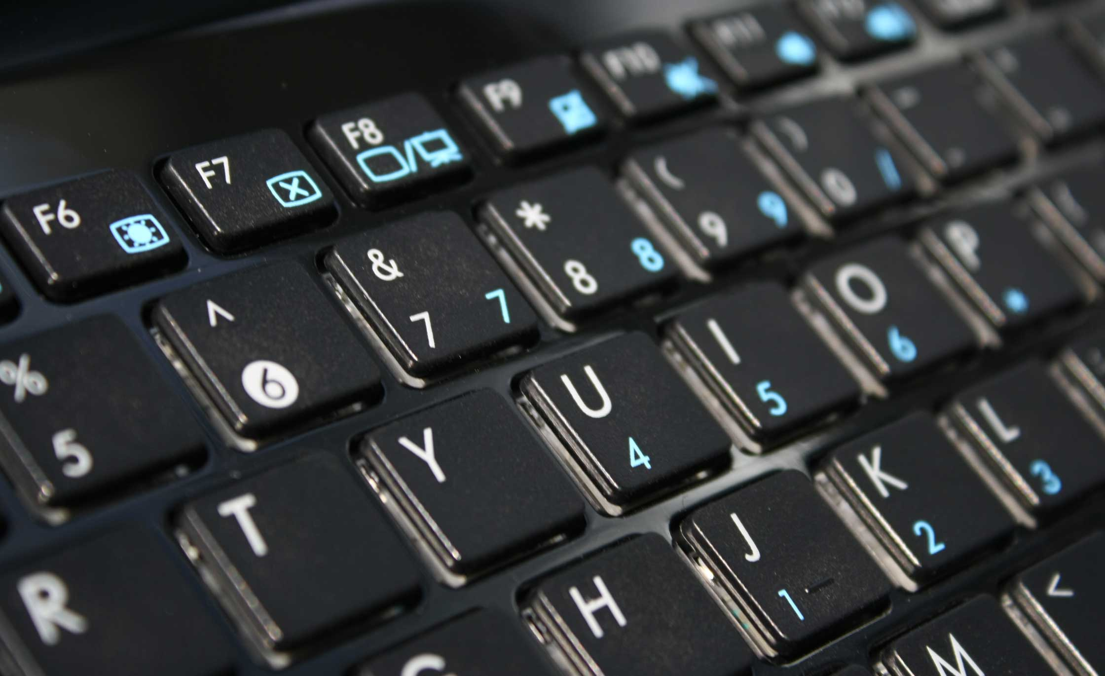 巧克力式键盘