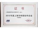 2010年度上海市明星软件企业
