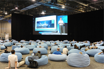 EMC World 2011休息区