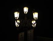 唯美的街边路灯