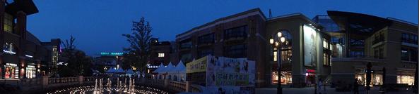 夜幕下的全景扫描拍摄