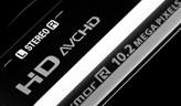 支持AVCHD格式高清摄像