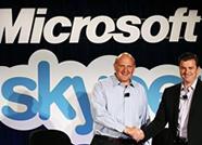 微软斥资85亿美元收购Skype