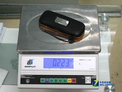 测试项目(一):重量对比