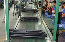 百诺碳纤维脚架流水线