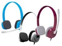 罗技H150赠安卓音箱4G内存卡 清晰麦克风及耳机 佩戴舒适 简洁线控可调音量及麦克风 有红白蓝三色下单备注颜色