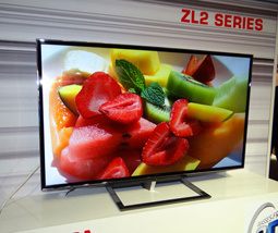 东芝IFA上宣布4k2k裸眼3D电视
