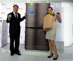 LG新品保鲜冰箱成主角