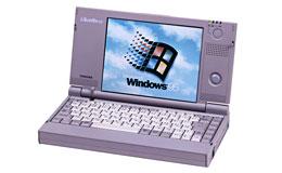 Libretto 20全球第一台宽屏轻薄笔记本电脑