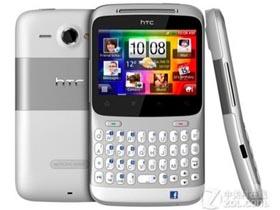 HTC Chacha(A810e)800MHz主频QQ手机 轻薄全键盘 全屏触控操作发电邮发微博及时回复 500w 宽屏录放简单实用