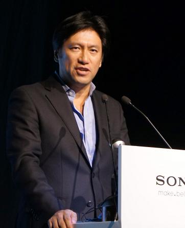 索尼集团VAIO&Mobile事业部副总裁 古海英之
