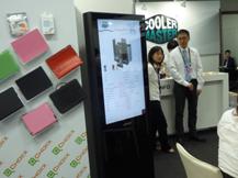 七珑猪广告机与台北国际电脑展的第一次亲密接触