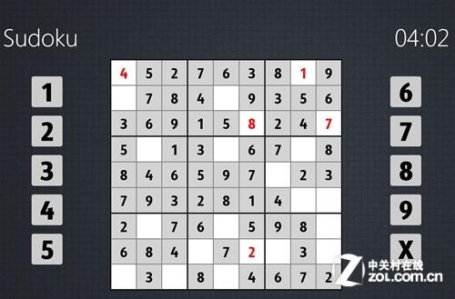 Win8/win7益智类游戏对比