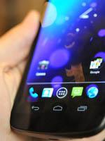 三星Galaxy Nexus虚拟按键