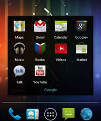 Android 4.0将发 新UI及谷歌音乐魅影