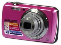 三星 PL20数码相机  1420万像素 5倍光学变焦 720P高清 2.7英寸 23万像素液晶屏 电子防抖 最长10小时录音