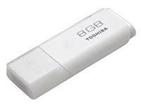 """仅60元!包邮!原价99元的东芝""""隼""""系列(8GB)U盘  UHYBS-064GH;外型小巧、米白色加上流线型设计;读写速度与品质值得信赖"""