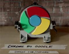 chrome浏览器跟闪电一样快