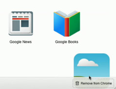 Chrome新标签页功能