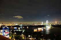 广角端夜景展示