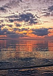 冲绳夕阳美景