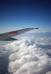 飞行在日本上空