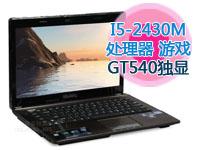 华硕 A43EI243SV-SL I5-2430M/GT540独显1G/2G/500G高速硬盘/蓝牙/正版Win7 暖金色 影音游戏笔记本(包邮)