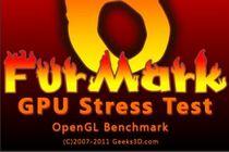 温度测试:FurMark