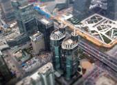 高楼大厦变玩具