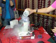 现场液氮超频