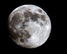 尝试夜空月亮拍摄