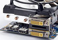 双DVI+HDMI+双Mini-DP输出