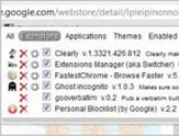去掉停留在导航条里的Chrome扩展按钮