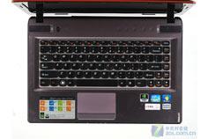 联想Y470机身C面键盘区域