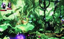 绿色森林里面的颜色渲染