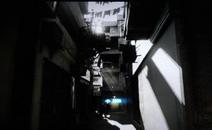 小巷中的光线效果