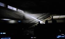由外部照射到黑暗地区的光线