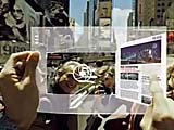 三星透明弹性屏幕展示