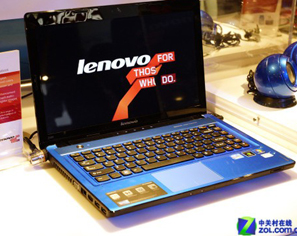 CES 2012:多彩体验 联想发Z480笔记本