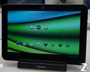 东芝展台惊现13寸平板电脑