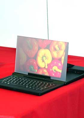 微投嵌入平板 LightPad现身