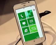 中兴展出WP7手机Tania