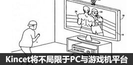 Kincet不仅限于PC与游戏机平台